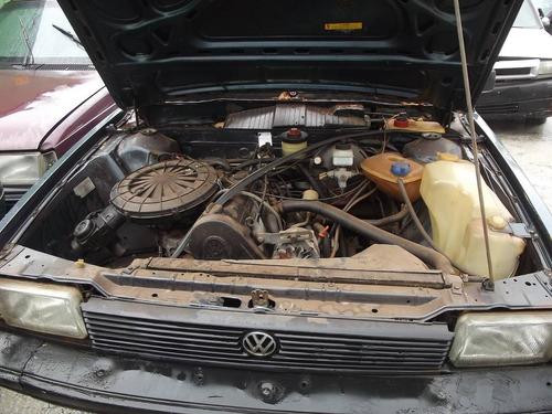 quantum 86, altenador, motor, chicote - sucata em peças