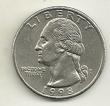 quarter dólar - águia - estados unidos - vários anos