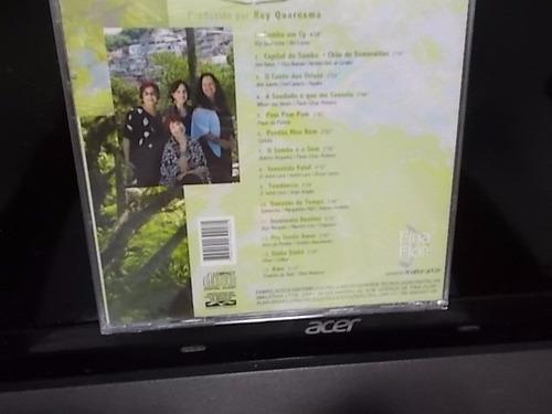 quarteto em cy, cd samba em quarteto, lacrado