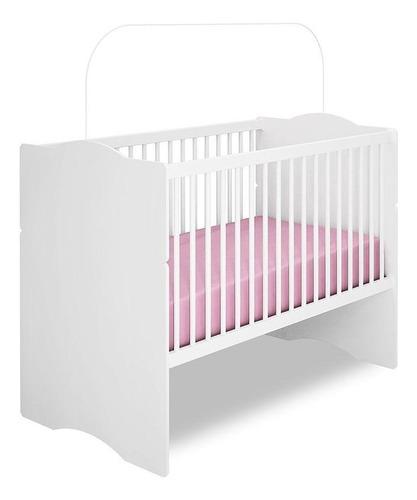 quarto de bebê new cristal 4 pts berço alegria branco brilho