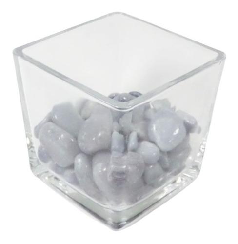 quartzo azul safira pedra rolada semi preciosa
