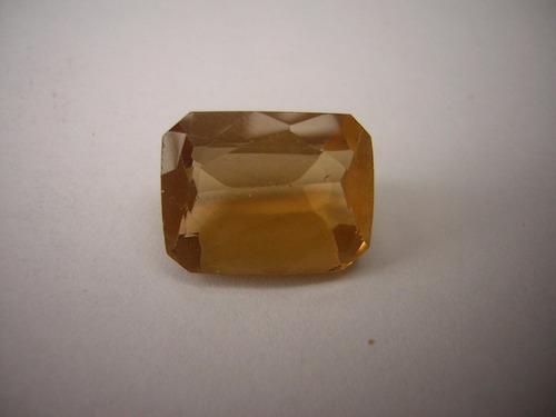 quartzo citrino gema tam;13,2x10,1x7,2mm = 7,5 ct