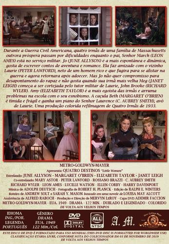 quatro destinos - elizabeth taylor - dvd autorado