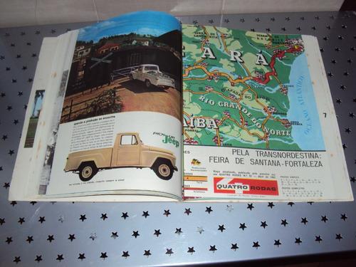 quatro rodas - 3ª coleção de mapas turisticos willys