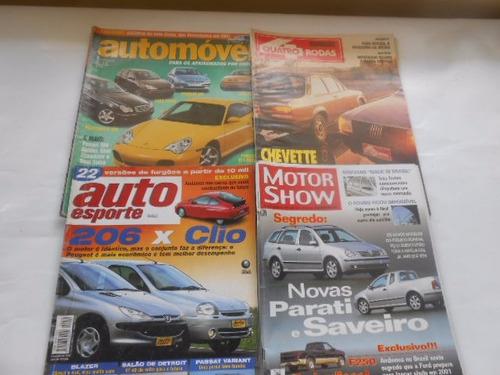 quatro rodas carro auto esporte motor show lote 20 revistas