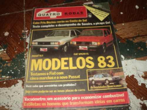 quatro rodas outubro de 1982