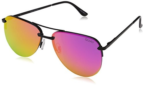 7c782720a Quay Gafas De Sol The Playa Para Mujer, Negro / Rosa,... - $ 82.990 ...