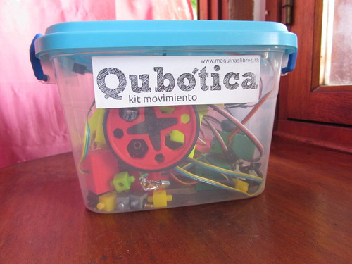 qubotica kit movimiento - robótica educativa