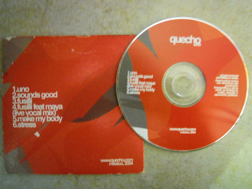 qucho one cd compilado electronica