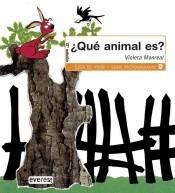 ¿qué animal es?(libro )