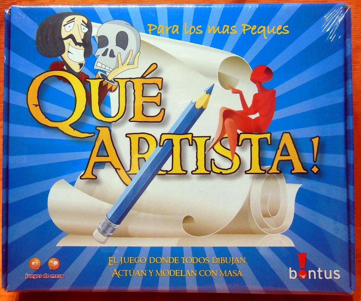 Que Artista Juego De Mesa Familiar De Bontus 295 00 En
