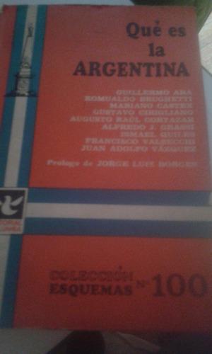 qué es la argentina. colección esquemas n° 100.