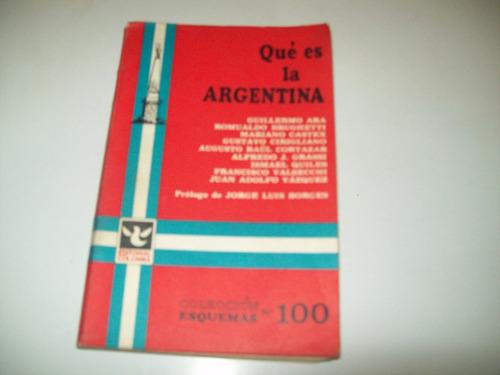 qué es la argentina   prólogo de borges   primera edición