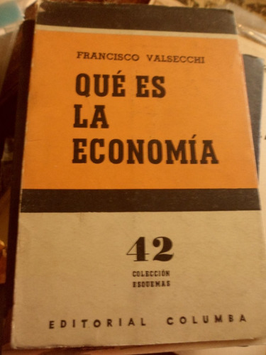 que es la economìa de francisco valsecchi