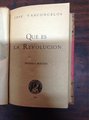 qué es la revolución