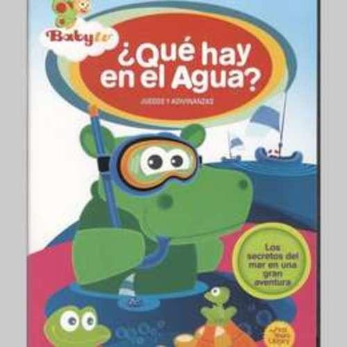 que hay en el agua? baby tv dvd nuevo