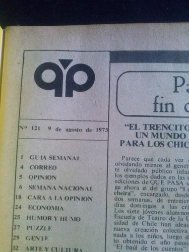 que pasa n° 121 9 de agosto de 1973