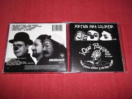 que payasos - portada para colorear cd nac ed 1994 mdisk