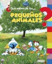 ¿qué sabes de... los pequeños animales?(libro infantil)