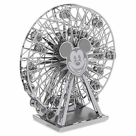 quebra-cabeça 3d metal - mickey's fun wheel disney parks