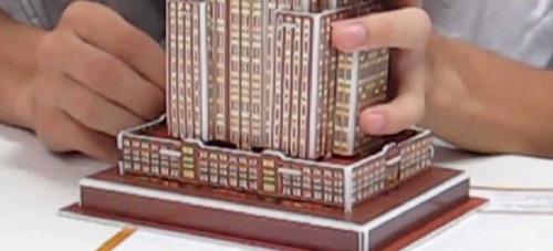 quebra-cabeça 3d puzzle - empire state - super 3d puzzle