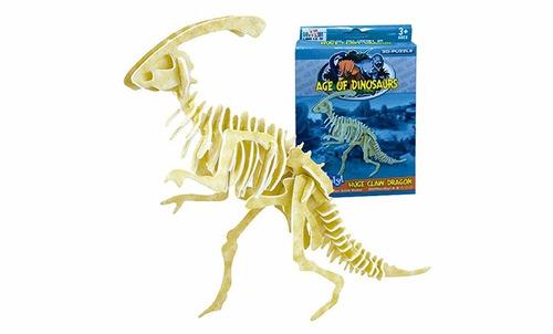 quebra cabeça 3d puzzle - velociraptor c/29 peças