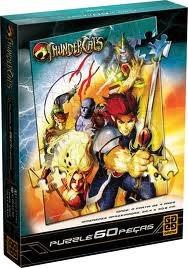 quebra cabeca 60 peças thundercats grow 02771