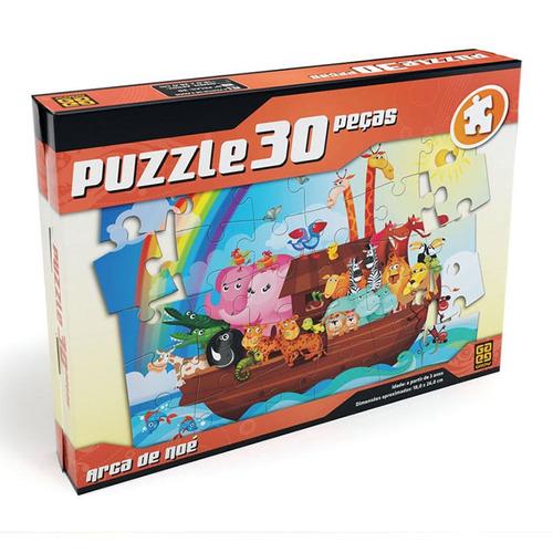 quebra-cabeça - arca de noé - 30 peças - grow