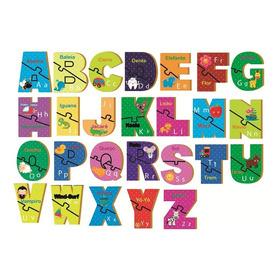 Quebra Cabeça Do Alfabeto Aprendendo O Abc Infantil 51 Pecas