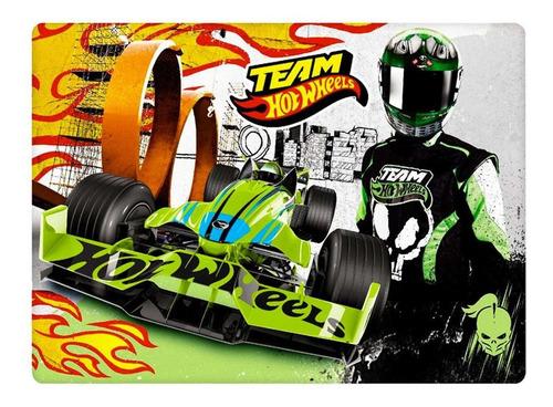 quebra cabeca hot-wheels time 2 - 100 peças y3099