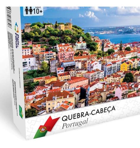 quebra cabeça portugal - lisboa 1000 p 7288.1 pais e filhos