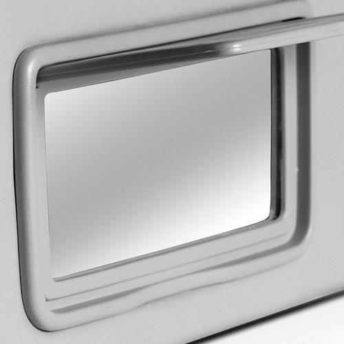 quebra sol corolla fielder 02 a 07 08 caixa espelho cinza