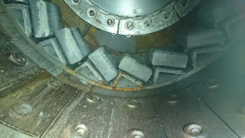 quebradora  impacto vertical cemco/chasis . repuestos/nuevos