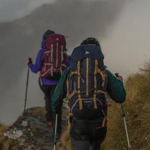 quechua todo para trekking: mochilas ropa calzado accesorios