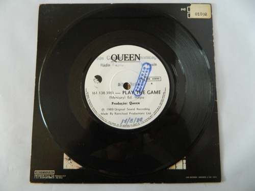 queen 1980 play the game - compacto ep 38