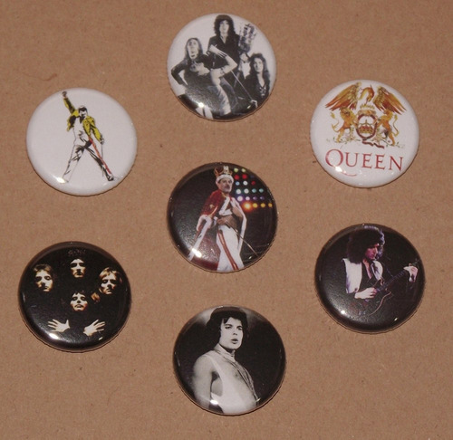 queen 7 broxes freddie mercury brian may