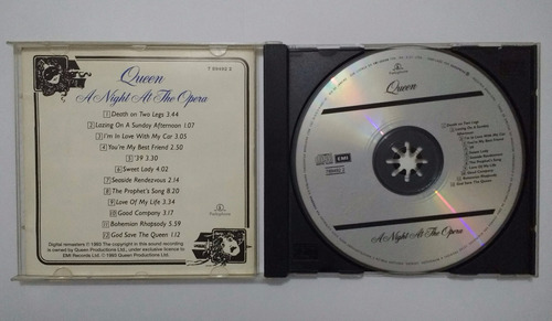 queen - a night at the opera  cd