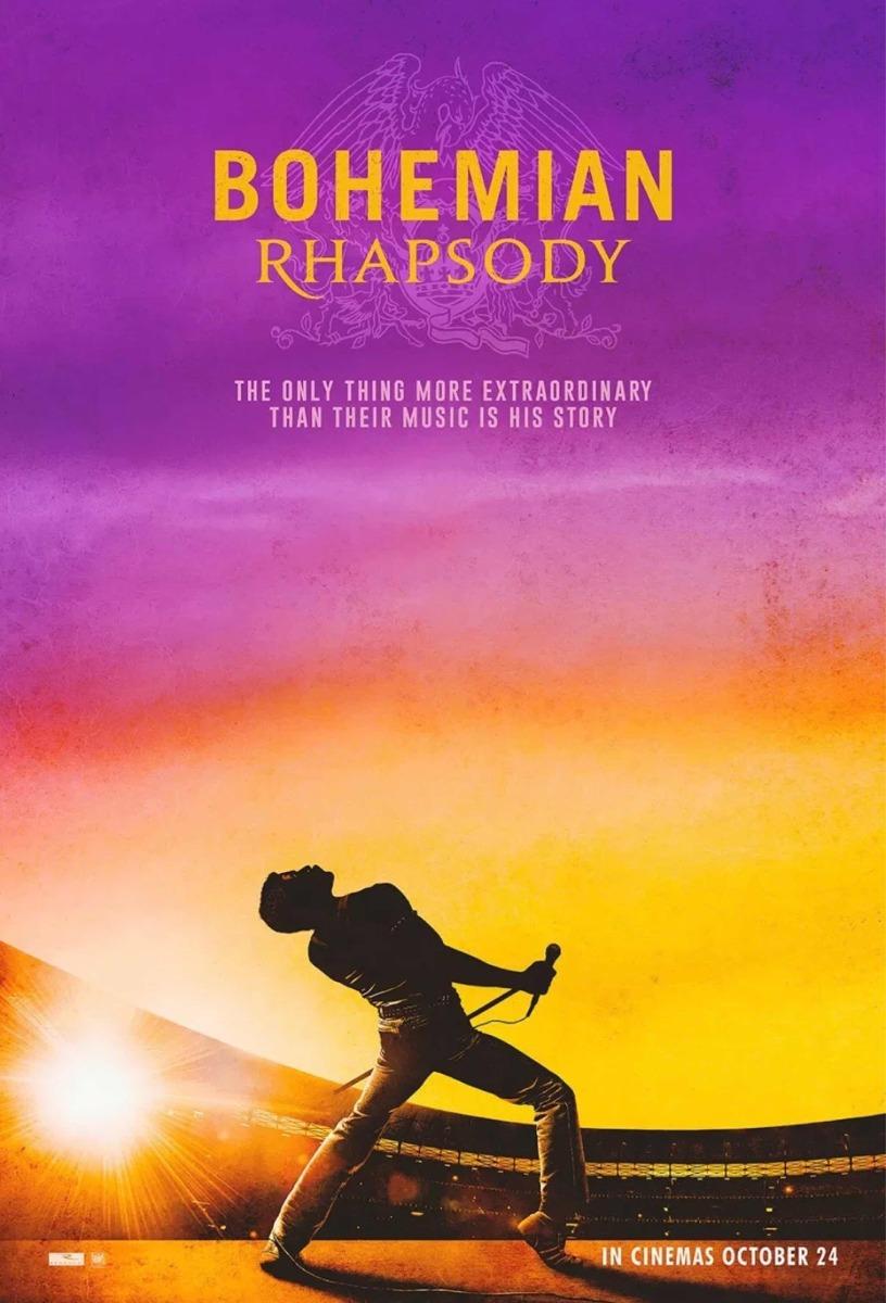Resultado de imagen para queen bohemian rhapsody film poster