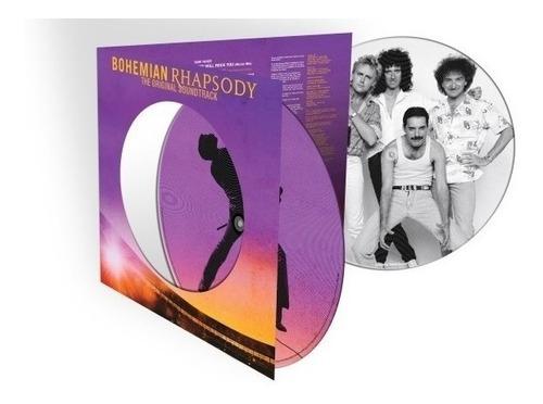 queen bohemian rhapsody vinilo doble picture disc nuevo 2 lp