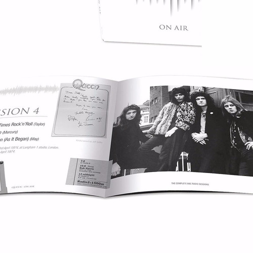 queen box on air deluxe 6 cds