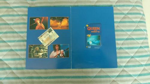 queen cartão telefônico live at wembley limitado em 5000