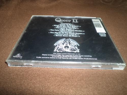 queen - cd album - queen ii dpa