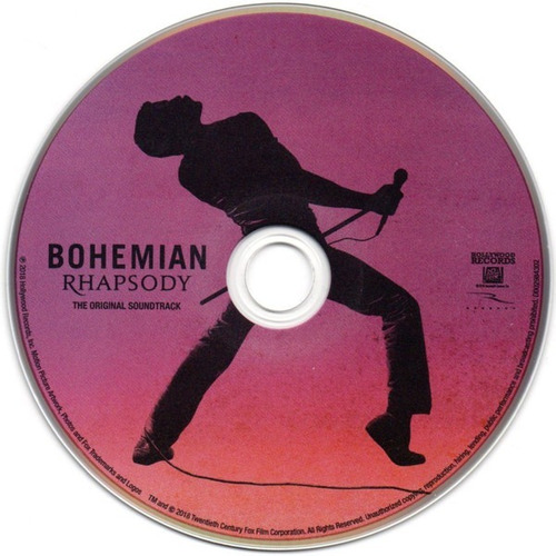 queen cd bohemian rhapsody soundtrack nuevo original sellado