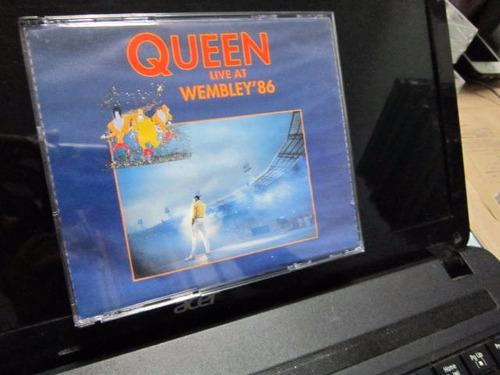 queen, cd duplo live at wembley '86