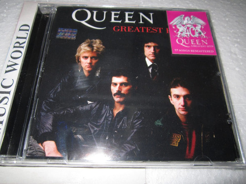 queen cd- greatest hits -press argentina-nuevo sellado