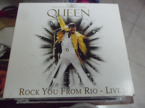 queen cd molotov rock you from rio - live