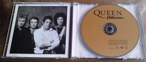 queen collection cd rarismo importado  brasileño bvf