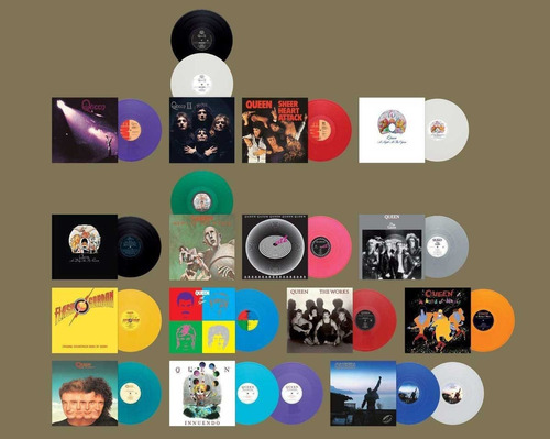 queen day at the races studio colection vinilo rock activity
