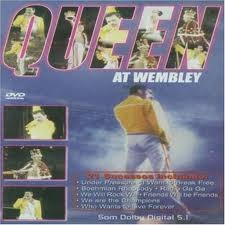 queen - dvd  live at wembley