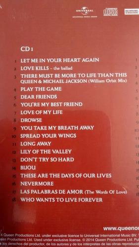 queen - forever cds 2 edition deluxe imperdible!!!